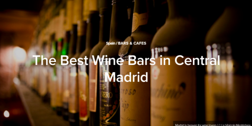 Vides mejor local vinos
