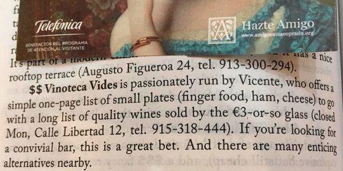 vinoteca vides ricks esteves